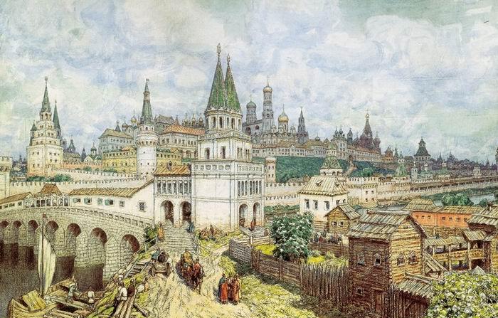 знакомство с московским кремлем