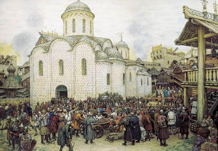 Оборона москвы от хана тохтамыша xiv